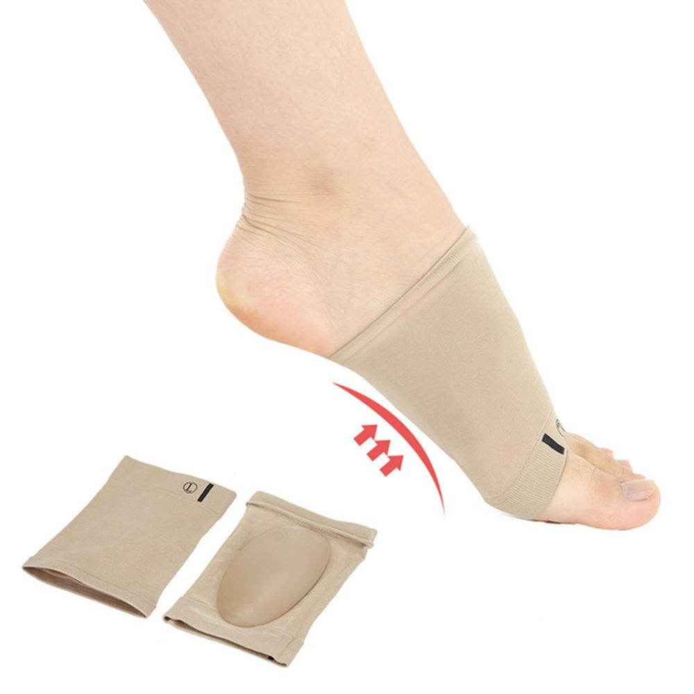 1pair Arches Footful Orthotic Arch Support Foot Brace Flat Feet Relieve Pain Comfortable Shoes Ortho