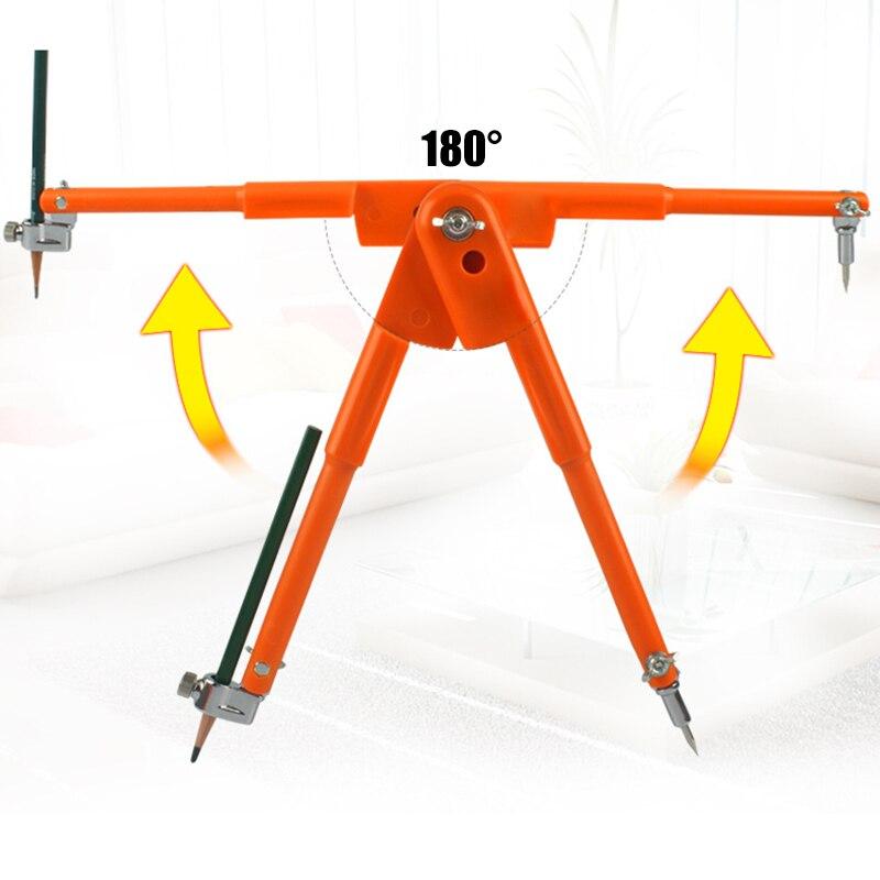 Lápiz de precisión de brújulas de carpintero multifunción para herramienta de marcado de carpintería VH99