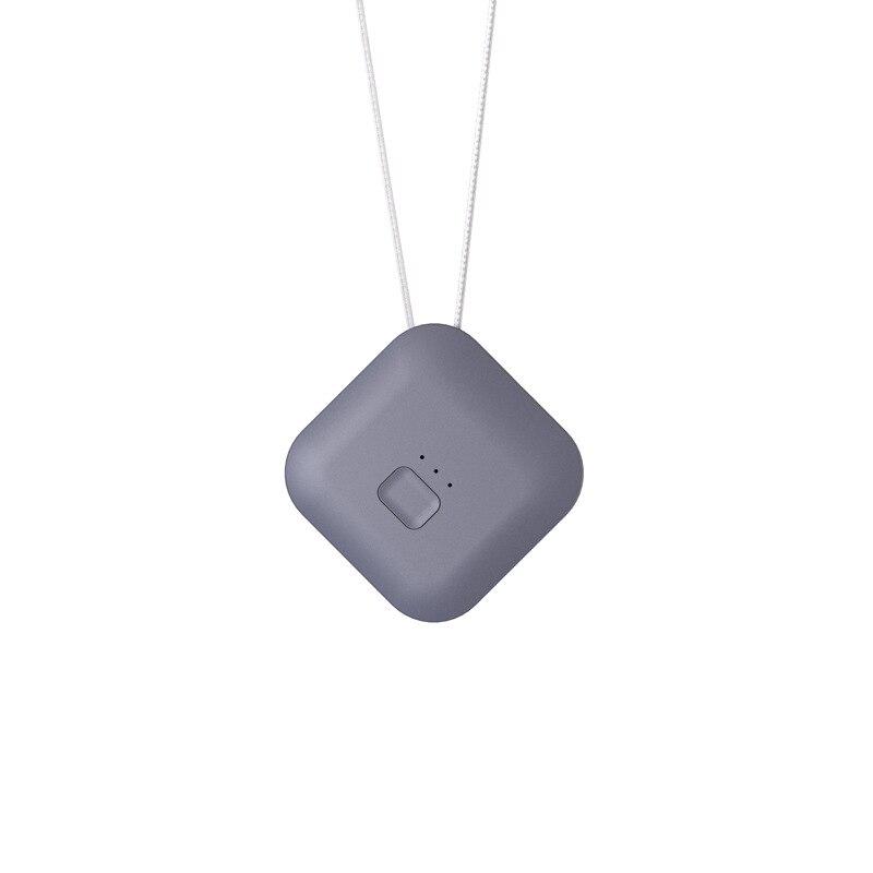Purificador de aire USB portátil Personal usable collar ionizador negativo anión purificador de aire ambientador