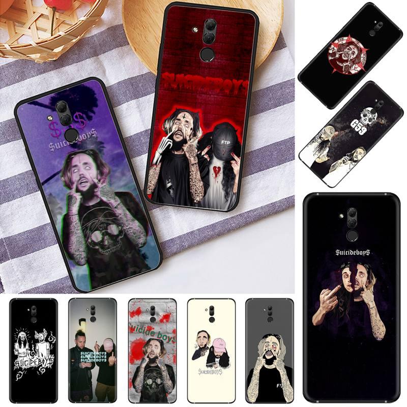 Estados Unidos rapero cantante suicidio chicos negro Funda del teléfono para Huawei Mate 9 10 20 Pro lite 20x nova 3e P10 más P20 Pro Honor10 lite