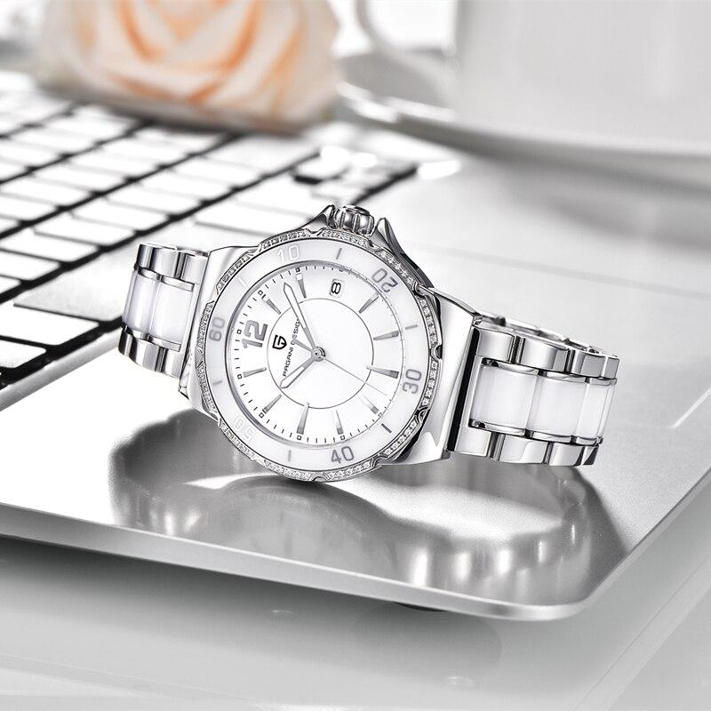Relogio Feminino PAGANI DESIGN Brand Luxury Women Watches Ladies Fashion Waterproof Ceramic Bracelet Quartz Wristwatches Clock enlarge