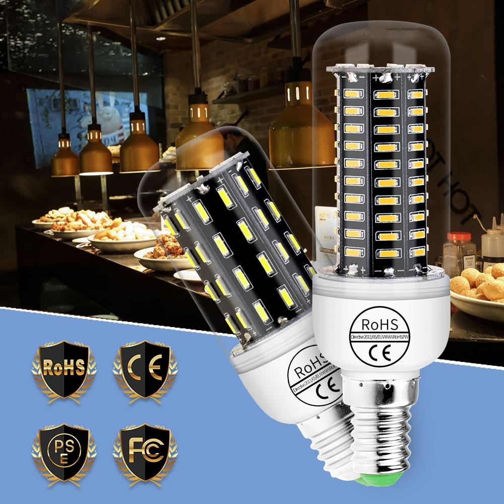 doxa 220v 30w e27 usb smart rechargeable led bulb ampoule hunting energy saving outdoor camping light emergency lamp Corn LED Bulb E27 220V Bombilla E14 LED Lamp 3W 5W 7W 9W Ampoule 38 55 78 88LED Candle Light Bulb SMD 4014 Energy Saving Light