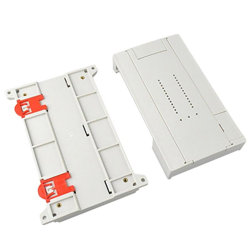 Carcasa electrónica Diy de 1 pieza, caja de Control de Abs, carcasa de plástico, carcasa para proyecto, caja de carril Din