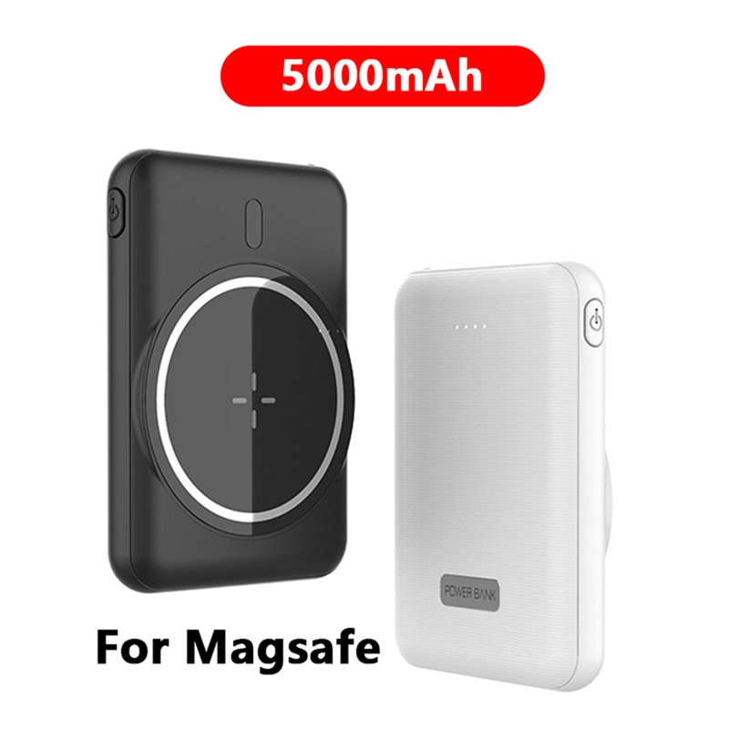 For 2021 Magsafe Wireless charging 5000mAh Magnetic Power Bank For iphone 12 12Pro 12proMax xiaomi Mobile Phone Battery Charger