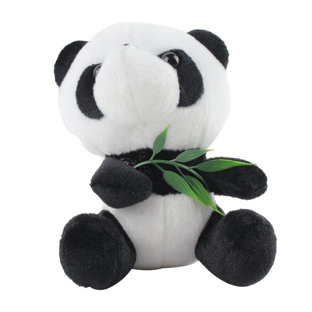 Panda Doll Plush Toy With Suction Cup Panda Hug Bamboo Doll Birthday Gift Wedding Gift Pendant