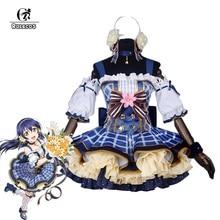 ROLECOS japonais Anime amour Costumes de Cosplay en direct Bouquet de fleurs Arousa Kousaka Honoka Minami Kotori Ayase Eli Cosplay Costume