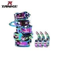 Крепление на Велосипедное Сиденье TANKE, ульсветильник алюминиевый сплав, фиксированная шестерня, детали для горного велосипеда, 31,8 мм, 34,9 мм