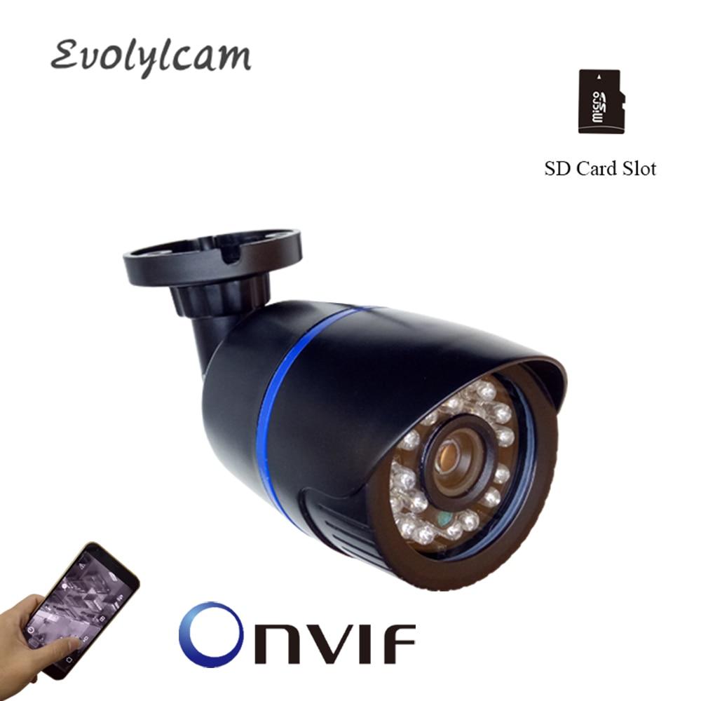 2MP 1080P HD 48V POE Kamera 1MP 720P IP Kamera Micro SD Card Slot Sicherheit Überwachung P2P onvif Freien Wasserdichte CCTV Kamera