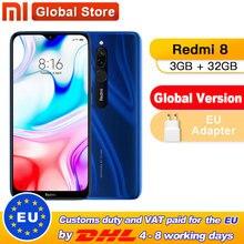 Global Version Xiaomi Redmi 8 3 GB 32 GB / 4 GB 64 GB Octa-core Snapdragon 439 processor 12 MP dual camera Smartphone  5000 mAh