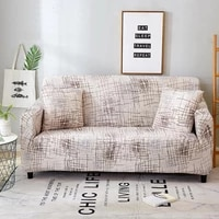 27All-inclusive Cover Printed Elastic Cover Stretch Sofa Slipcovers Sectional Living Room Couch Cover Sofa Cover 1 2 3 4 Seat
