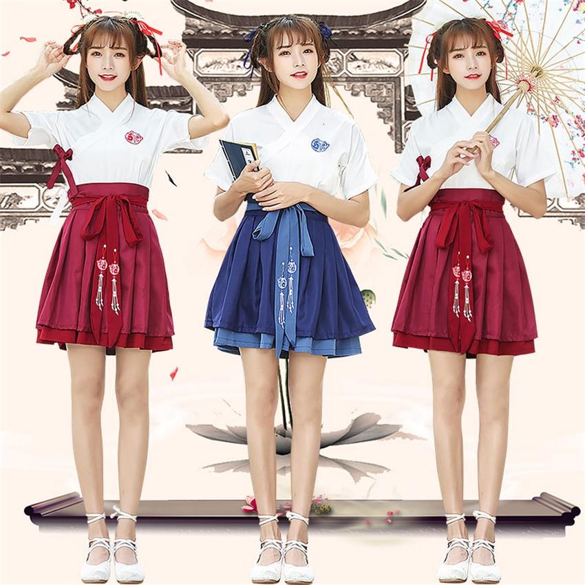 Mädchen Japanischen Stil Haori Kimono Rock Anzug Frauen Traditionellen Japan Vintage Party Asiatische Kleidung Yukata Tee Stickerei Fany Kleid