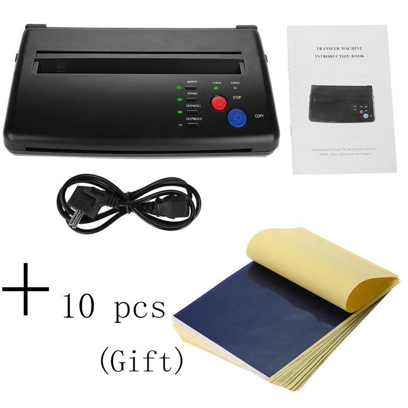 Зажигалка для тату, переводная машина, принтер для рисования, термопринтер, производитель трафаретов, копир для тату, переводная бумага, поставка