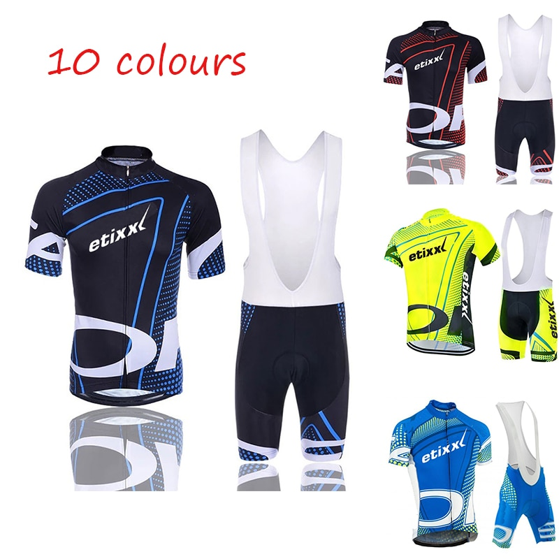 2020 ETIXXL verano Ciclismo Jersey conjunto transpirable MTB bicicleta Ciclismo Ropa de montaña Ropa de Ciclismo Maillot Ropa Ciclismo