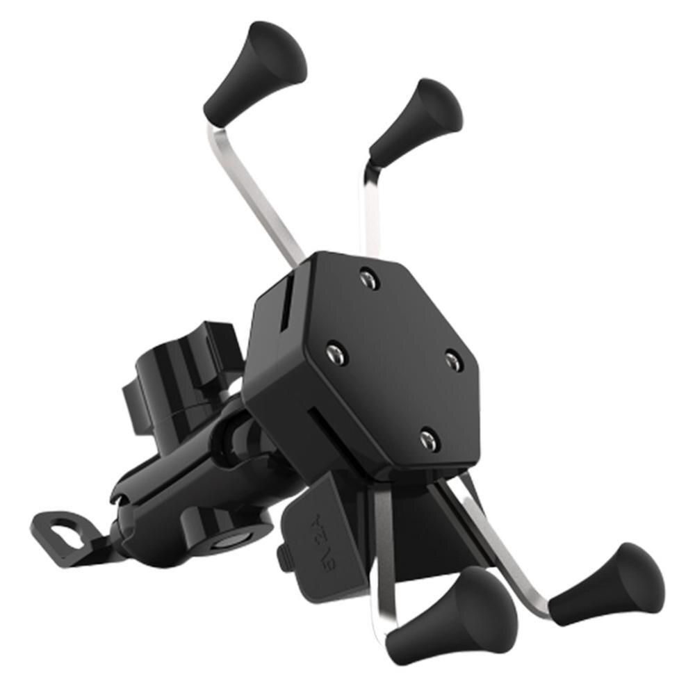 Motocicleta Scooter x-tipo cargador teléfono móvil soporte Usb Carga de coche