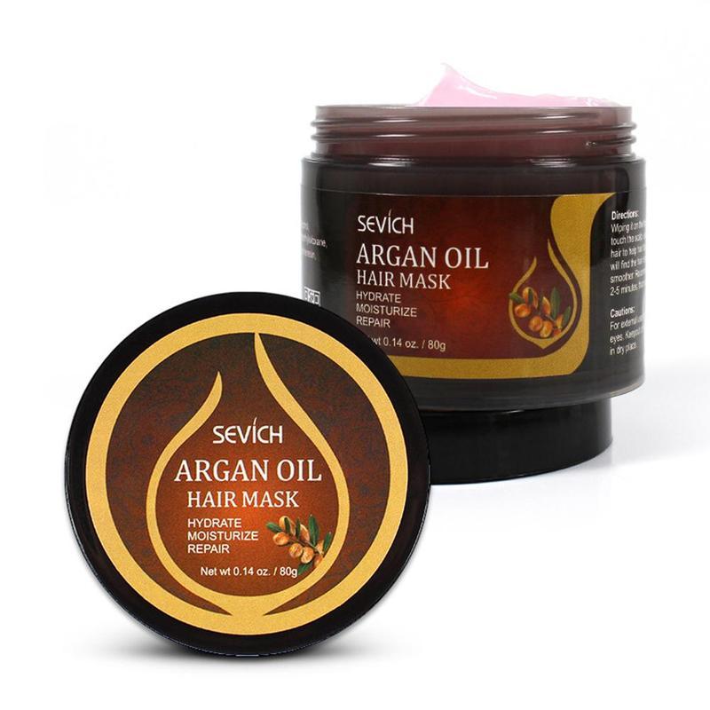 80ml Sevich tratamiento de pelo del aceite de argán máscara reparación daños...