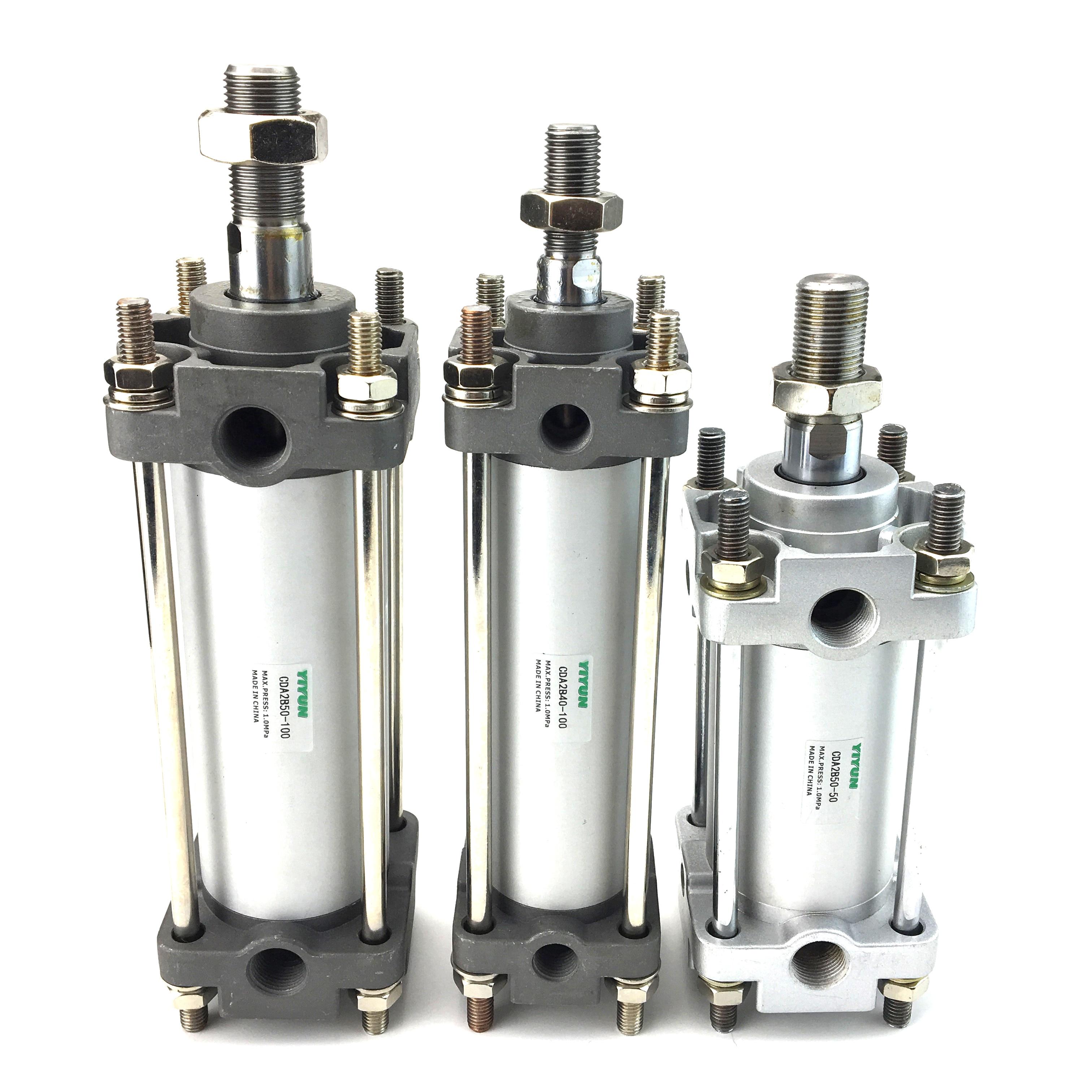 CDA2B40-500/500Z/600/600Z/700/700Z/800/800Z/900/900Z/1000/1000Z cilindro neumático estándar YIYUN, serie CDA2B