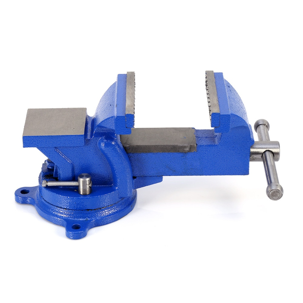 4inch 100mm Work Bench Vice Vise Workshop Clamp Engineer Jaw Swivel Base Heavy Duty