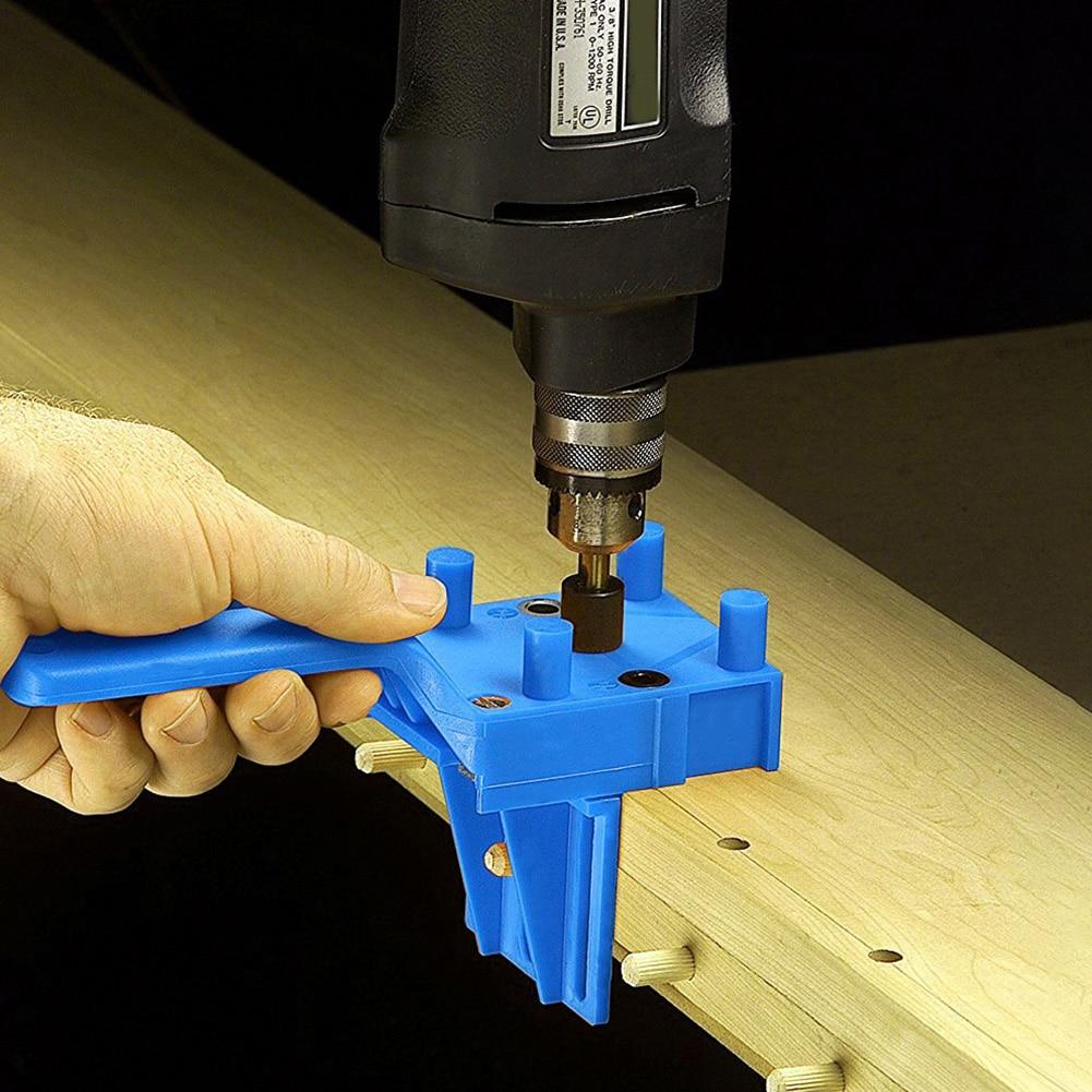 Perforadora de agujero de bolsillo para carpintería duradera, perforadora de espigas de madera para carpintería, herramientas prácticas multifuncionales