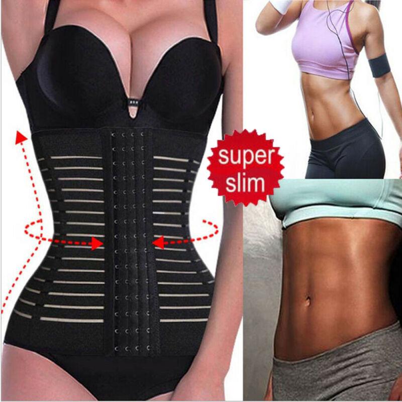 M-3XL Corset Body Shaper Slimming For Women Breathable Waist Trainer Belt Lady Postpartum Shapewear Shapewear Slim Fitness