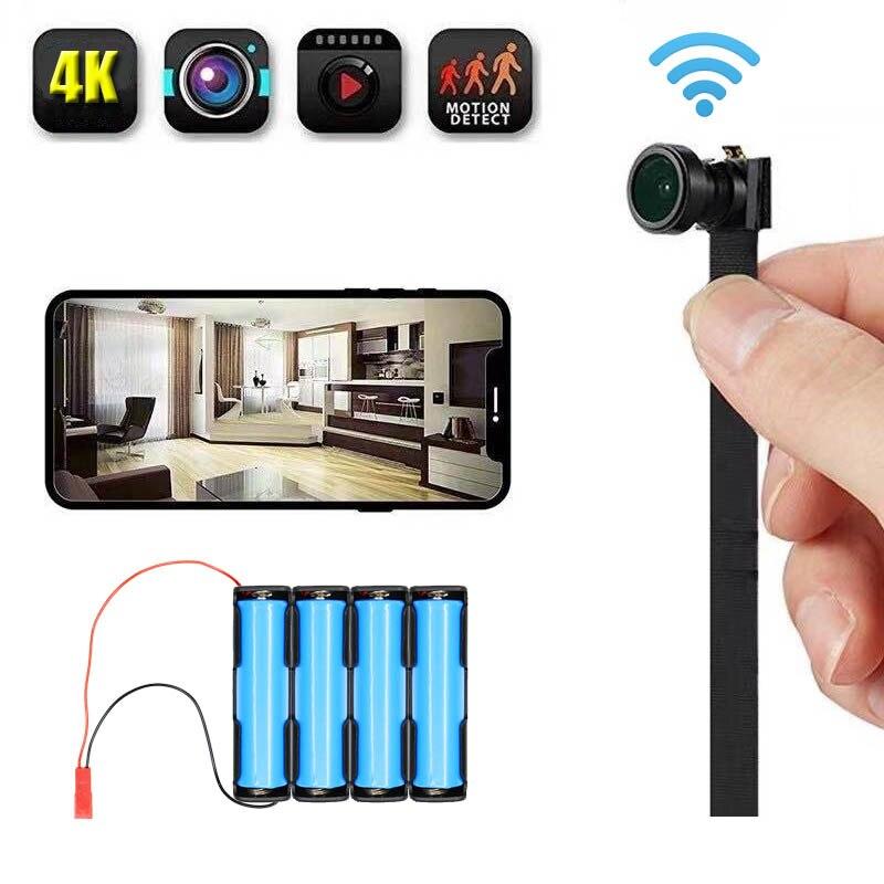 JOZUZE HD DIY Portable WiFi IP Mini Camera Night vision Remote View P2P Wireless Micro Webcam Camcorder Video Recorder