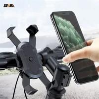 bike phone holder universal motobike handlebar clip stand 360 degrees rotation smartphones gps mount bracket for iphone samsung