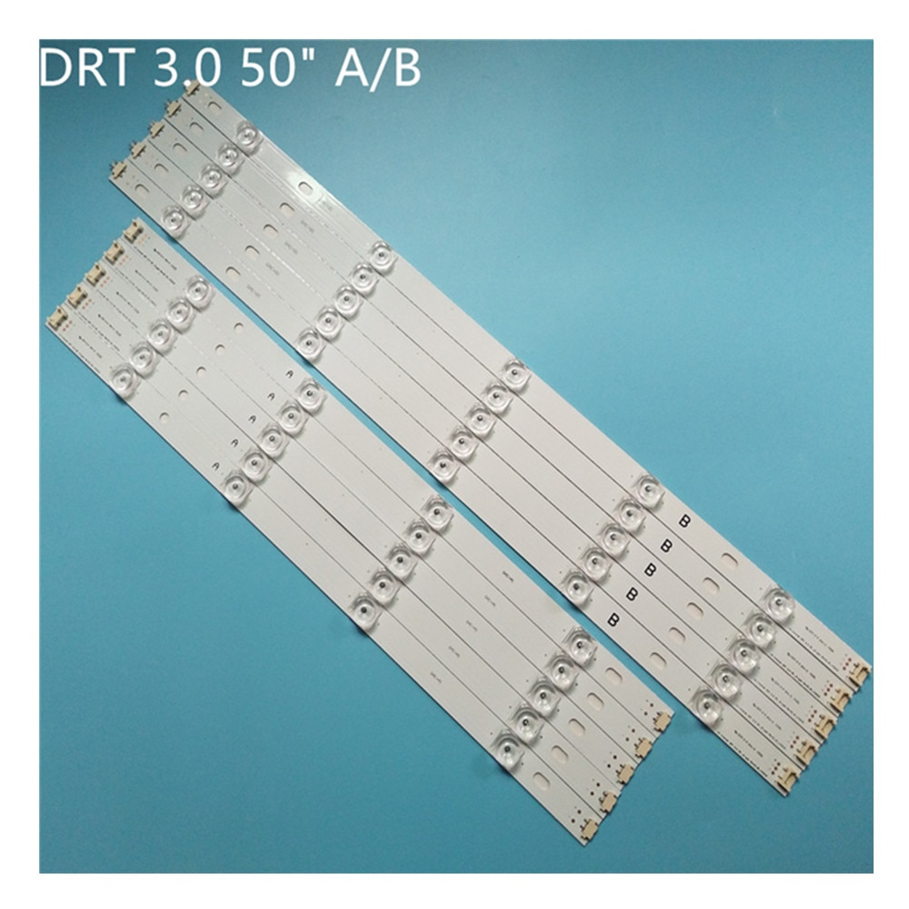LED إضاءة خلفية للتلفاز قطاع 6 فولت مصباح ل LG 50LB5620 50LB5700 50LB5800 -ZB CA inنوت k DRT 3.0 50
