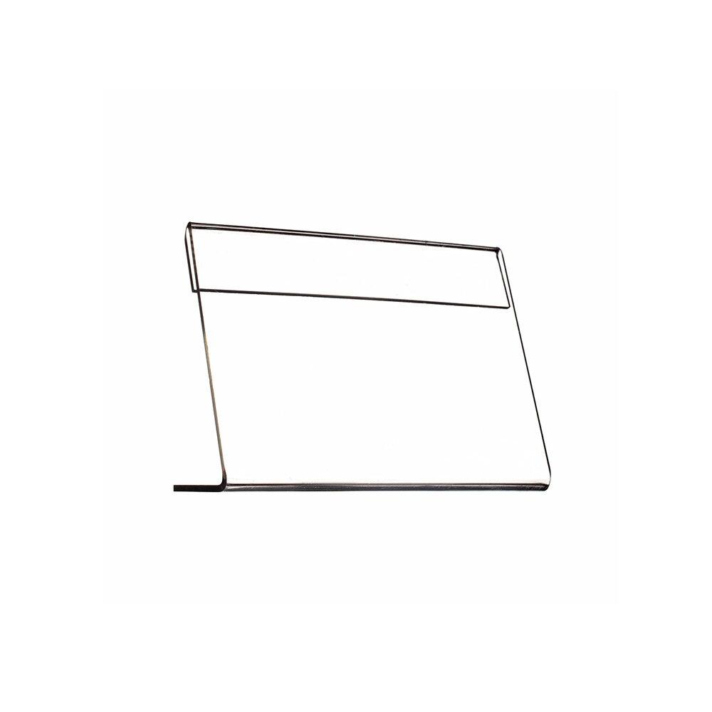 Пластик акриловый знак Дисплей цена карты тега Signage Бумага продвижение настольная табличка держатели L подставки прозрачный T2mm в горизонта...