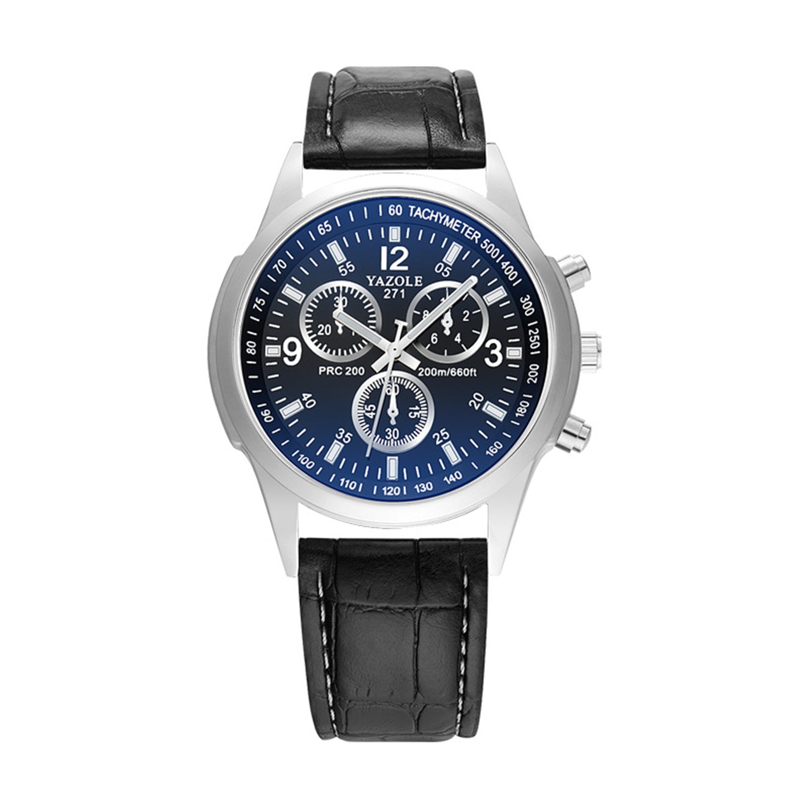2021 Minimalist Men's Fashion Mens Blu-Ray Roman Numerals Quartz Analog Wrist Watch, Black Band Blac