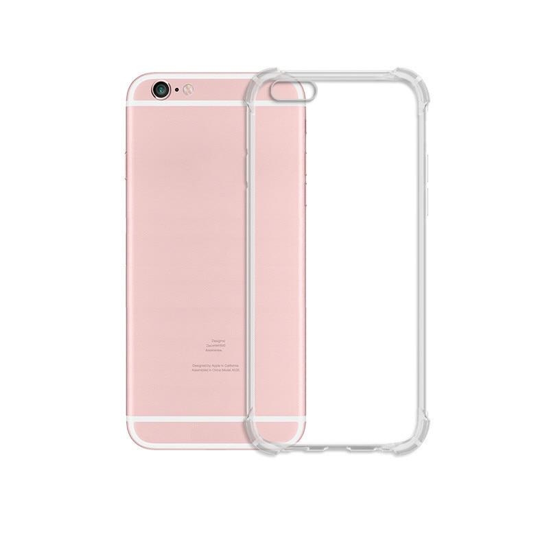 À prova de choque tpu transparente caso do telefone móvel para o iphone 7 8 6s plus 7 mais 8 xs max xr 11 não proteção antiderrapante capa traseira