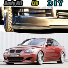 Автомобильный бампер, передний спойлер, юбка, дефлектор для BMW 5 M5 E28 E34 E39 E60 E61, модифицированный автомобильный комплект для тела, VIP Hella Flush Lips