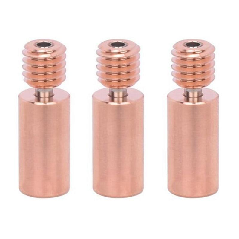 ثنائية المعادن كسر الحرارة V6 الحلق ل V6 PT100 hotenprusa I3 MK3 سخان كتلة 1.75 مللي متر ثلاثية الأبعاد أجزاء الطابعة كسر الحرارة