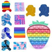 1PC Push Bubble Fidget Sensory Toy Autism Special Needs Stress Reliever Sensory Autism Special Need