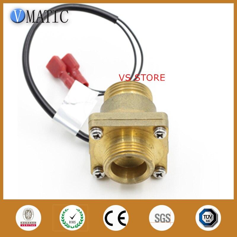 Envío Gratis, Sensor electrónico de descarga, calentador de latón, bomba de calor, interruptor de Control de flujo de agua VC4050
