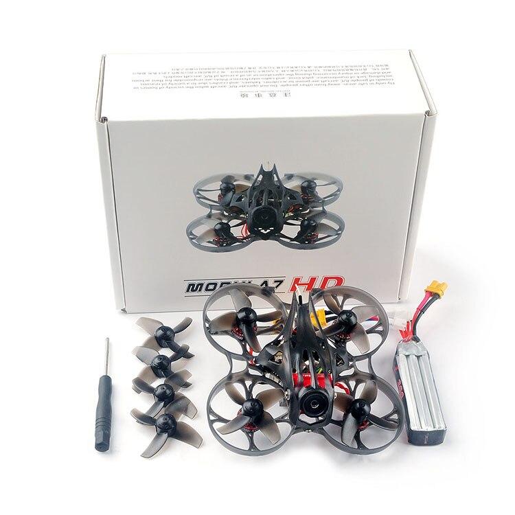 Happymodel Mobula7HD 1102 2-3S 75mm Crazybee F4 Pro CADDX tortuga V2 DVR 200mw FPV sin escobillas Cinewhoop libre Dron PNP/BNF