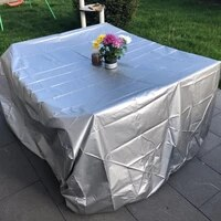waterproof outdoor patio garden furniture covers rain snow chair covers for sofa table chair dustproof cover furniture covers