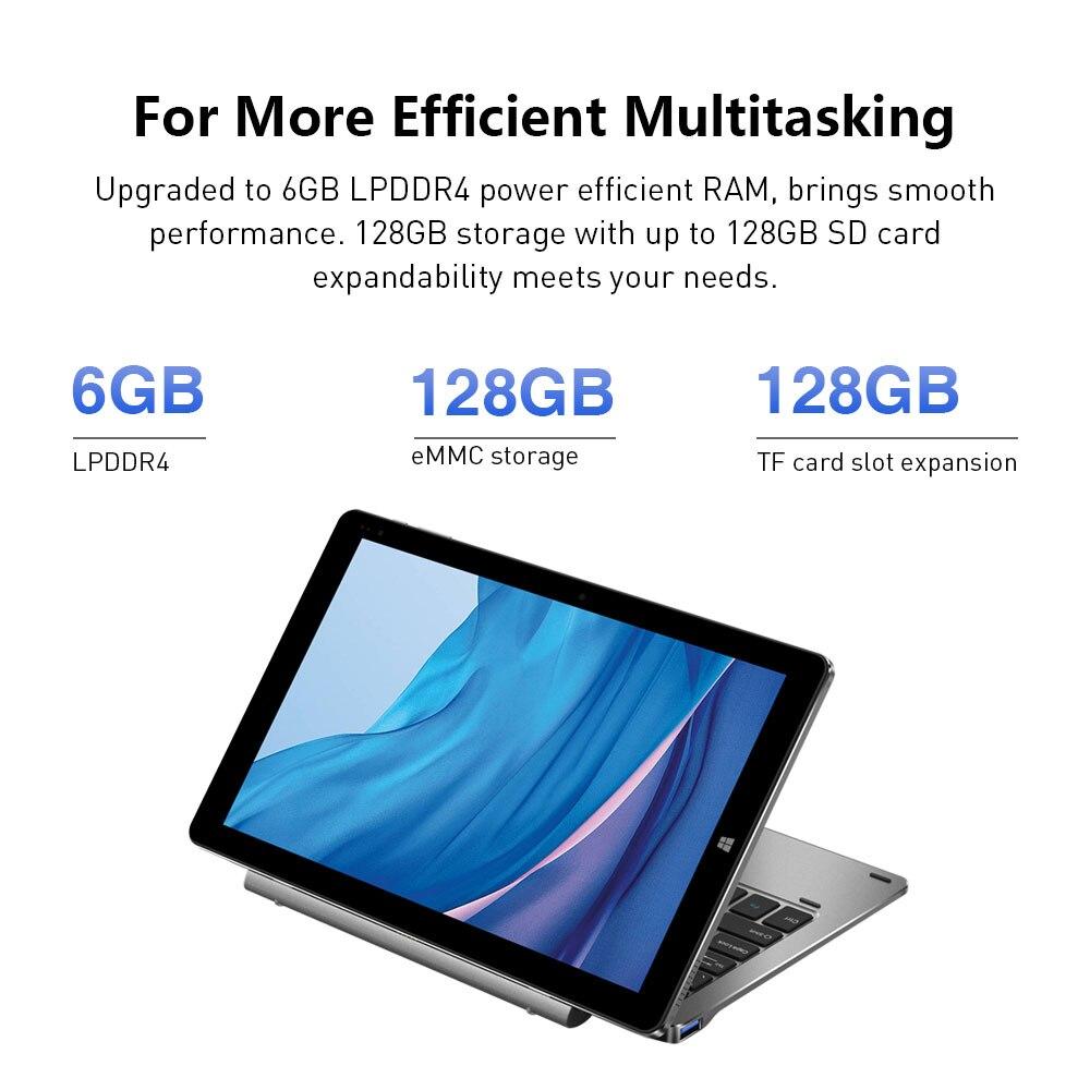 CHUWI Hi10 X 10.1 inch Tablet PC FHD screen Intel Celeron N4120 Quad core 6GB RAM 128GB ROM Windows 10 system