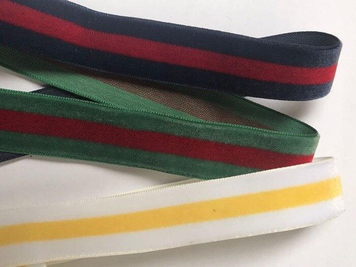 9mm 19mm 25mm Intercolor poliéster terciopelo cinta multicolor terciopelo cinta diy embalaje moños para regalos accesorios Decoración