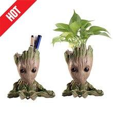 Groot bébé Pot de fleurs figurines daction modèle jouet stylo Pot support plantes Pot Pot de fleurs décoration de noël pour la maison enfants cadeau