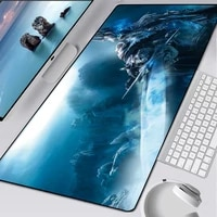 900x400mm gaming mouse pad wow lich king mousepad large rubber xl keyboard desk mouse mat laptop play mat for world of warcraft
