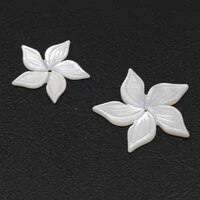 2021 fashion natural shell shell pendant petal shape exquisite high quality pendant jewelry for making diy necklace accessories