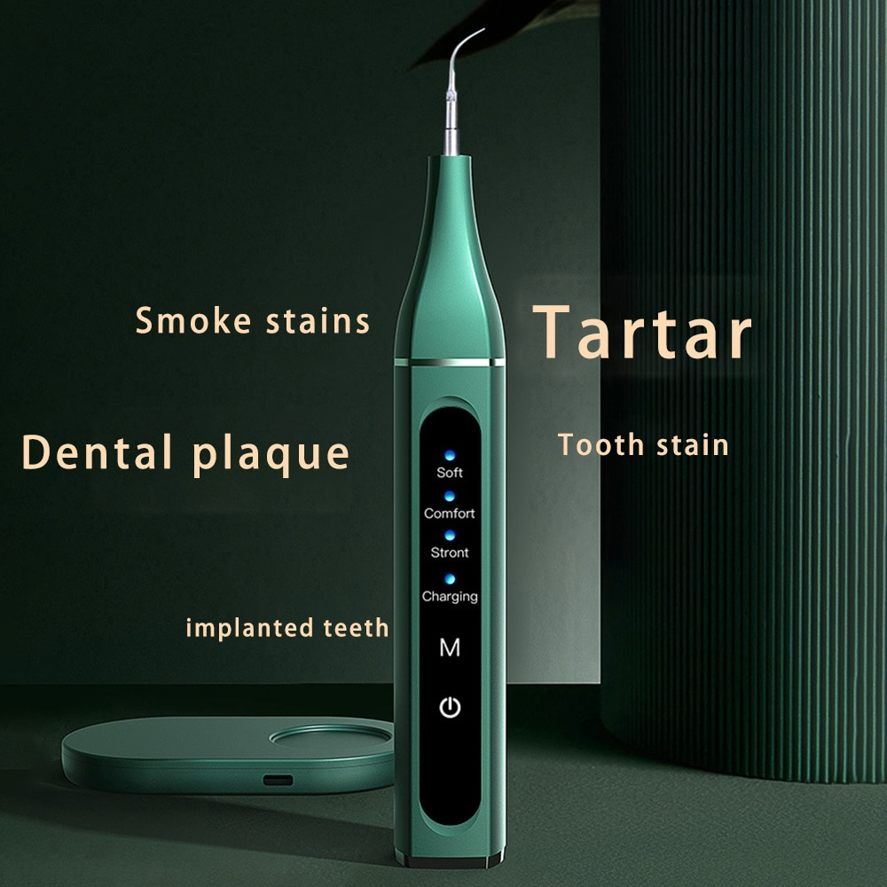 Portable Dental Scaler Sonic Calculus Tartar Remover Ultrasound Whitener Electric Scaler Smoke Stains Tartar Plaque Remover Tool enlarge