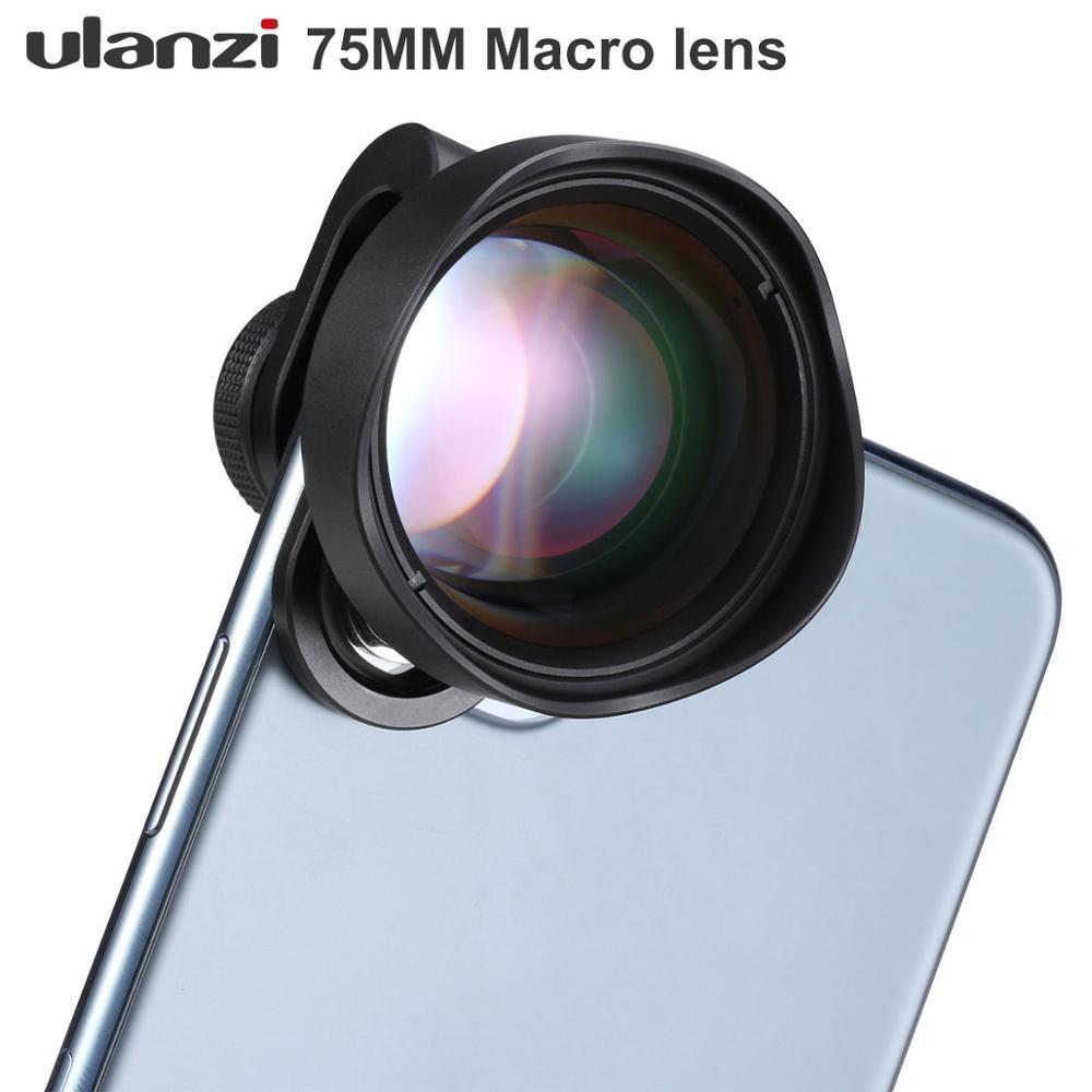 Ulanzi-عدسة كاميرا هاتف ماكرو 10X ، زجاج بصري ، عالمي ، لأجهزة Android و iPhone و Piexl و One Plus و Xiaomi و Huawei