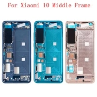 housing middle frame lcd bezel plate panel chassis for xiaomi mi 10 5g phone metal middle frame