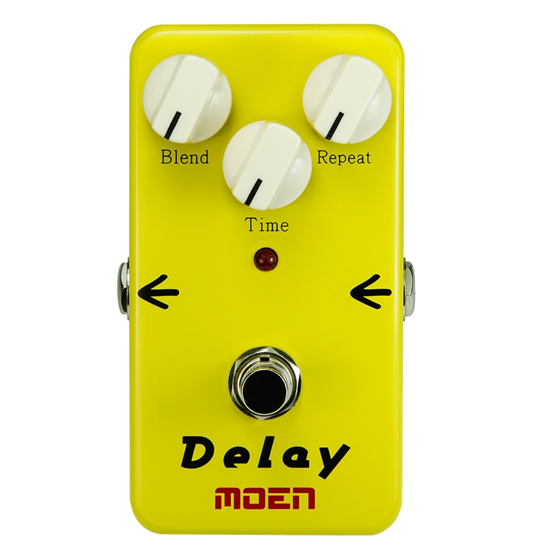 MOEN Electric Guitar Effects Delay Blend Repeat Time