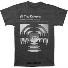 Camiseta engraçado da novidade dos homens da camisa do t no drive in transcendence