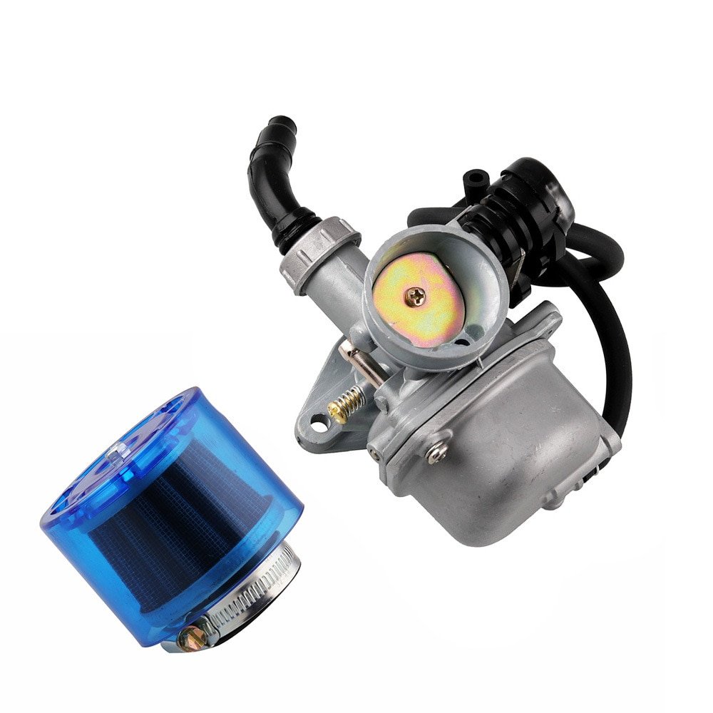 Carburador de motor de motocicleta ATV con filtro de aire para Honda yamaha kawasaki 50cc 70cc 90cc 110cc 125cc
