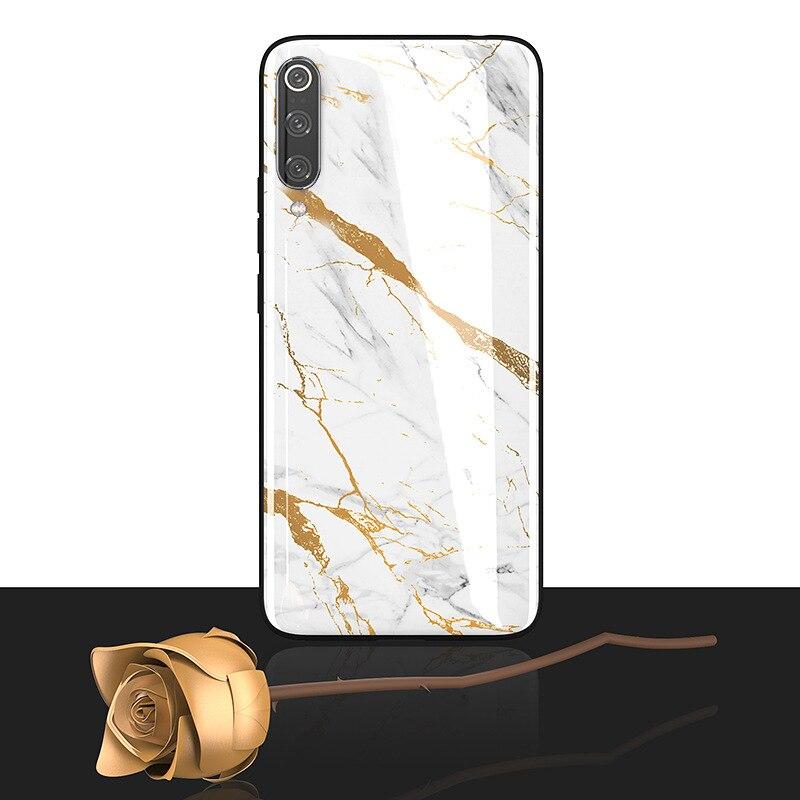 Чехол для телефона Funda de silicona de vidrio templado para xiaomi 9