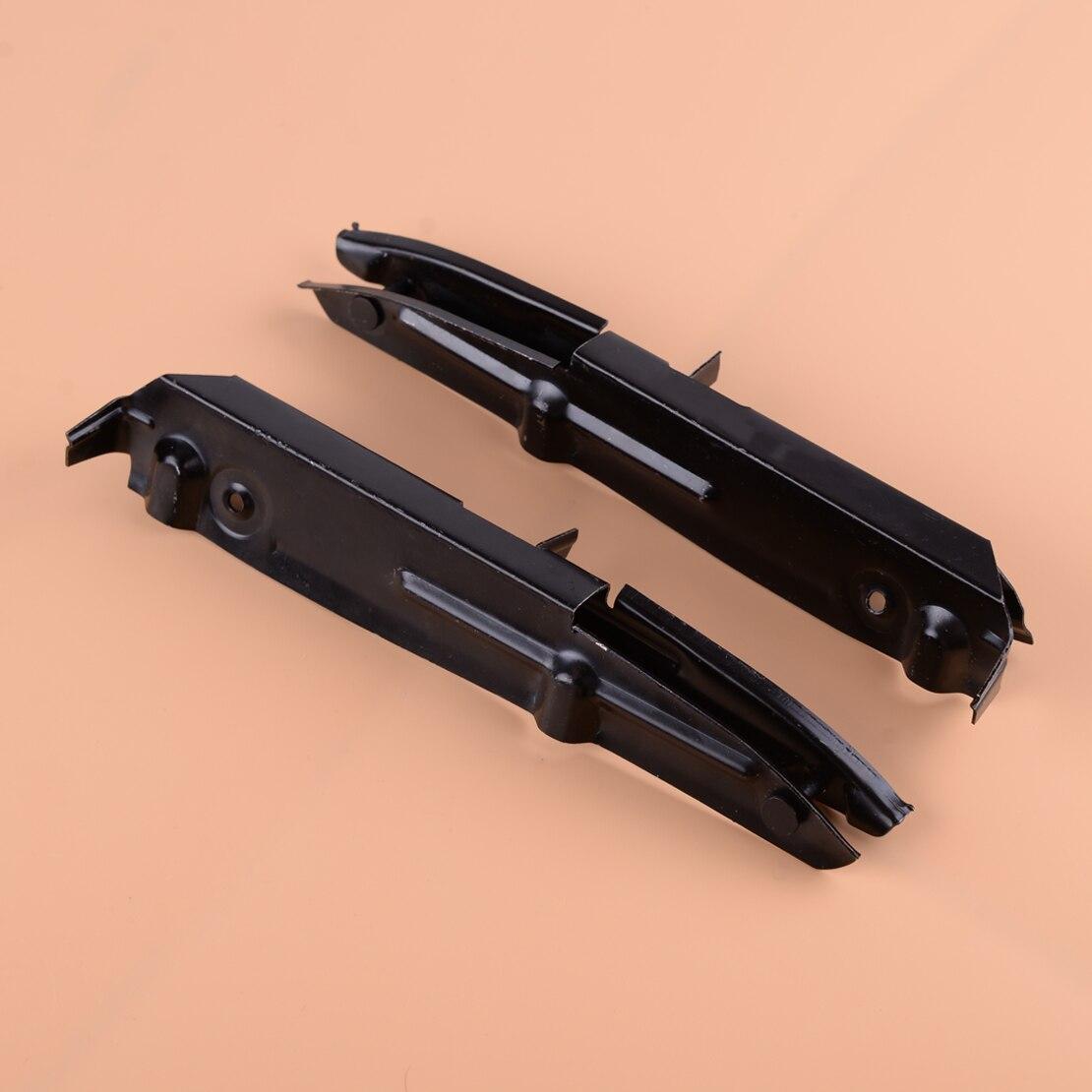 DWCX frontal 1 par soporte de parachoques soporte 2218850714 al 2218850814 para Mercedes W221 S550 2007, 2008, 2009, 2010, 2011, 2012, 2013