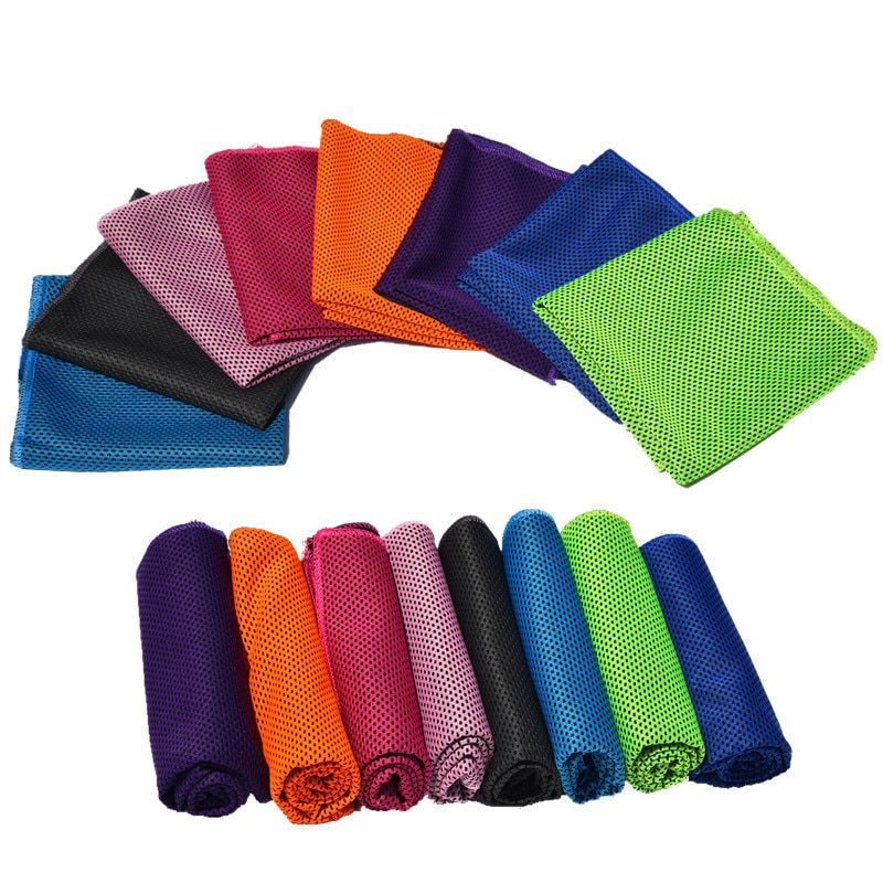 Sport Towel Rapid Cooling Ice Face Towel Quick-Dry Beach Towels Summer Enduring Instant Chill Towels