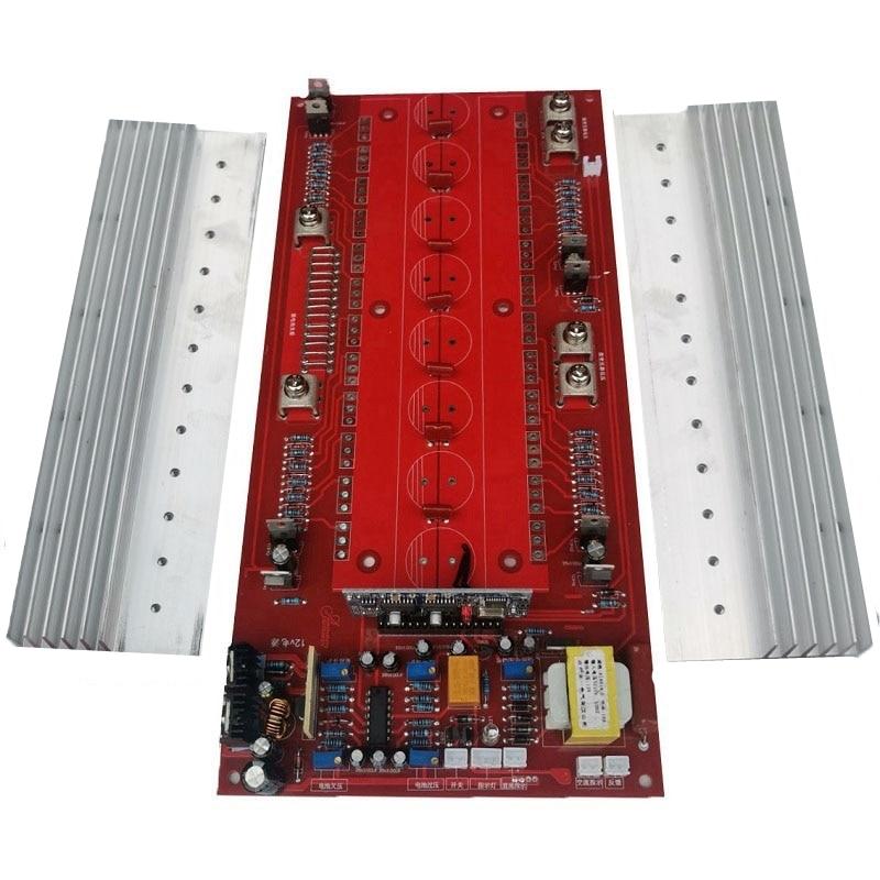 اللوحة الأم ، محول موجة جيبية نقية 220 فولت ، 24 أنبوب ، 24V3500W ، 48V6500W ، 60V9000W ، 72V12000W